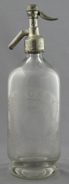 CALGARY BREWING & MALTING COMPANY SODA SIPHON
