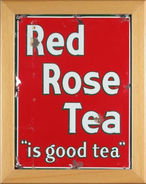 RED ROSE TEA ADVERTISING SIGN