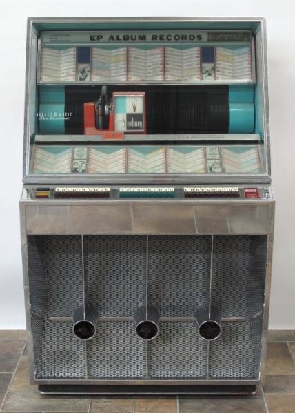 1958 SEEBURG SELECT-O-MATIC JUKEBOX
