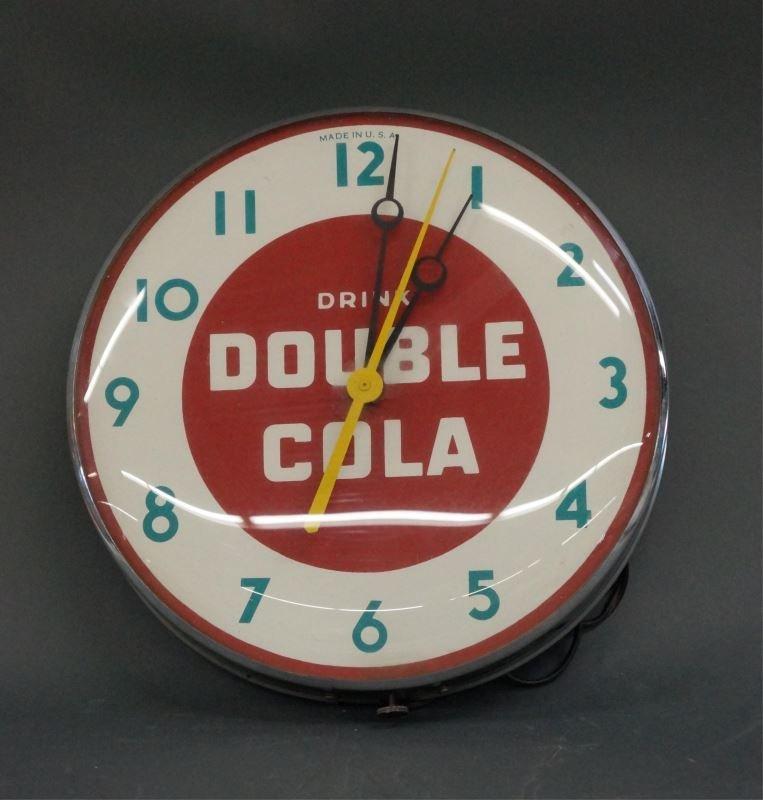VINTAGE ADVERTISING WALL CLOCK