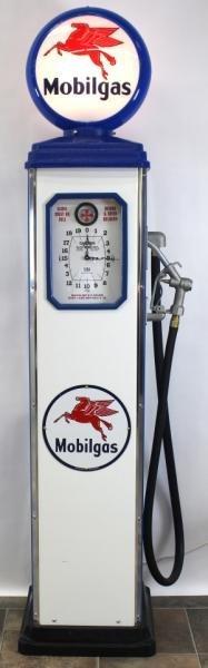 MOBIL GAS RETRO GAS PUMP REPLICA