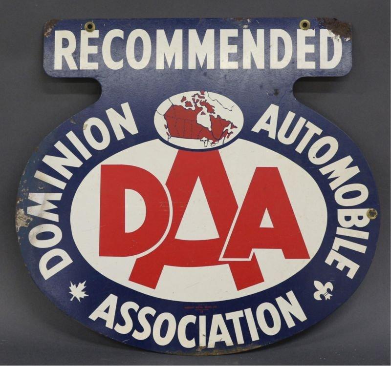 DOMINION AUTOMOBILE ASSOCIATION SIGN