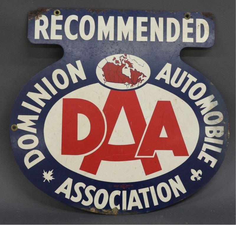 DOMINION AUTOMOBILE ASSOCIATION SIGN - 2