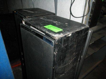10: PAIR OF SPEAKER BOXES