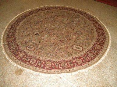 3: Round Oriental Rug