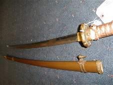 37: Fujiwara Tadakuni Katana Sword, Circa 1648