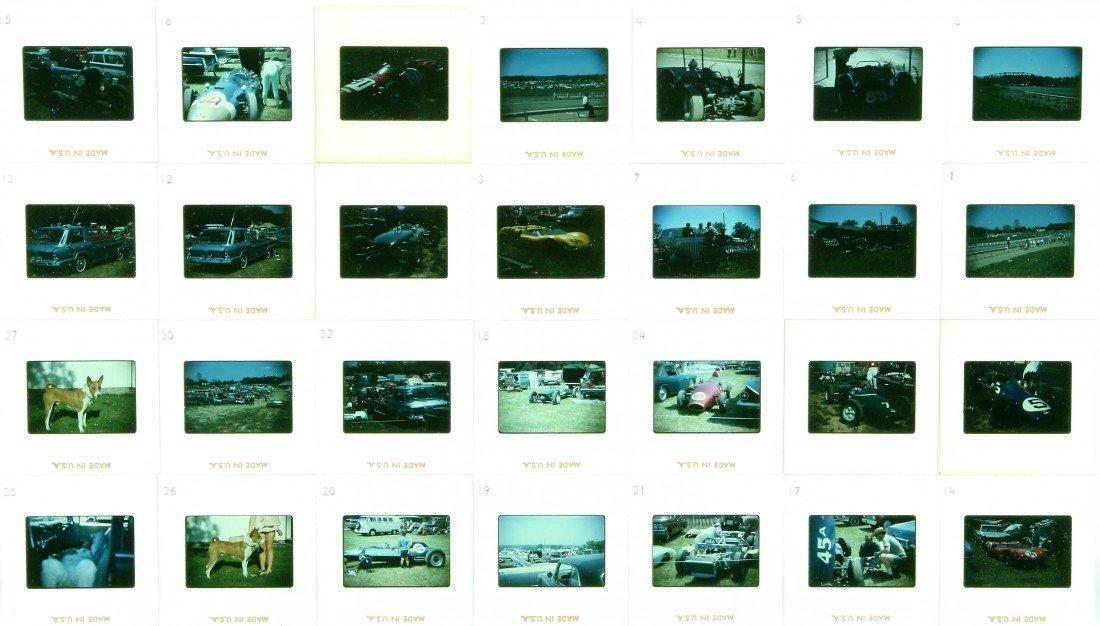 504: 28 Color Slides - Mansfield & Elkhart