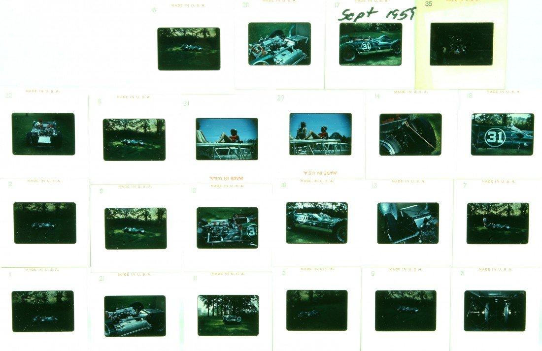 506: 21 Color Slides - Mark 5 Elva, Sept. 1959 Dietrich