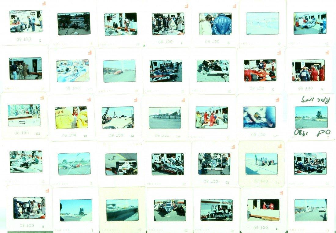 507: 76 Color Slides - Automotive Racing, Oct. 1980