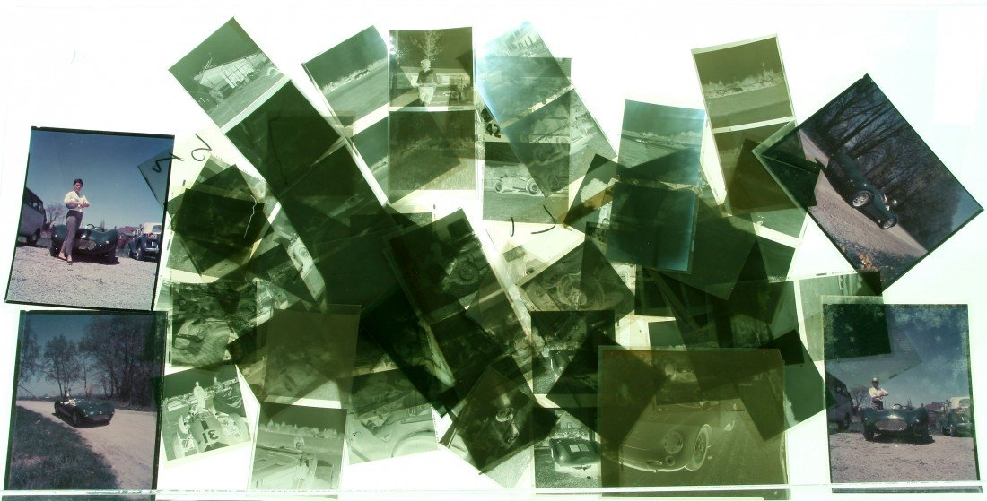 509: Film Negatives - Suzy Dietrich Auto Racing Related