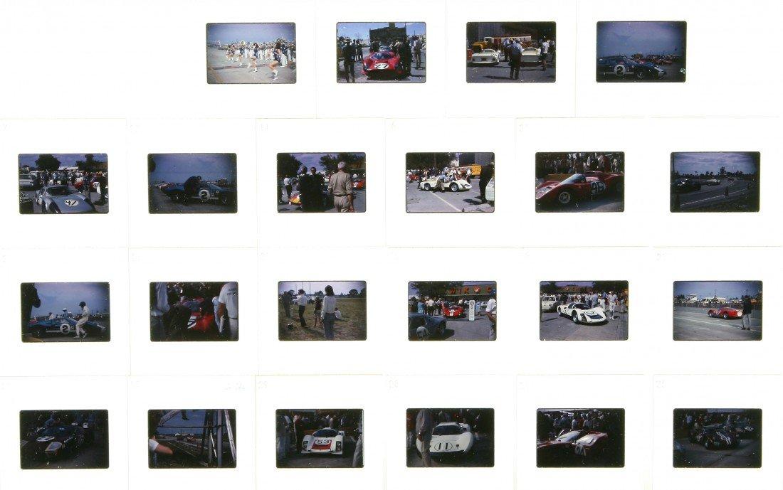 514: 22 Color Slides - Auto Racing Suzy Dietrich