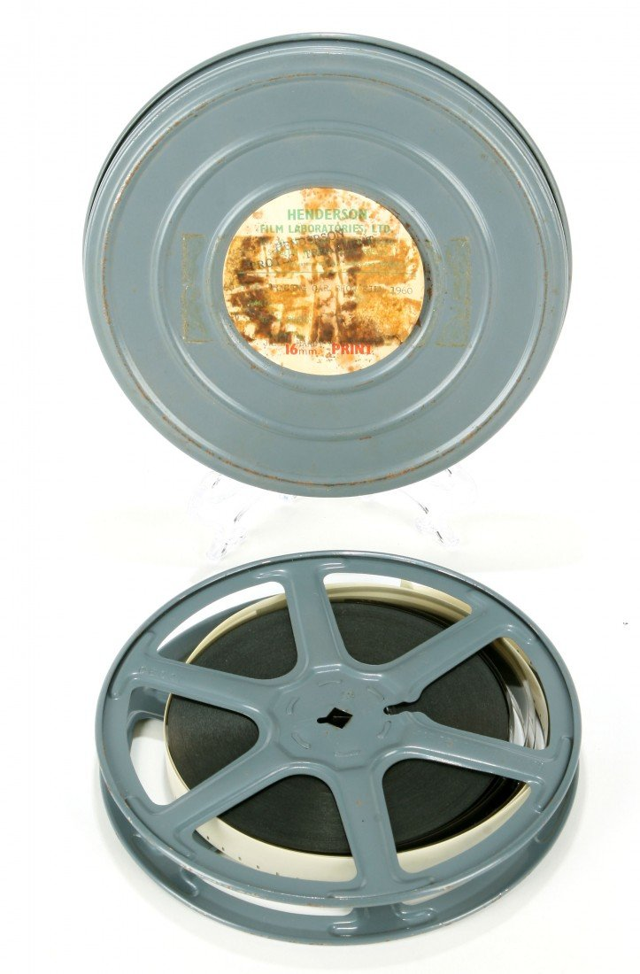 516: 16mm Film - 1960 BRSCC Car Show- Dietrich