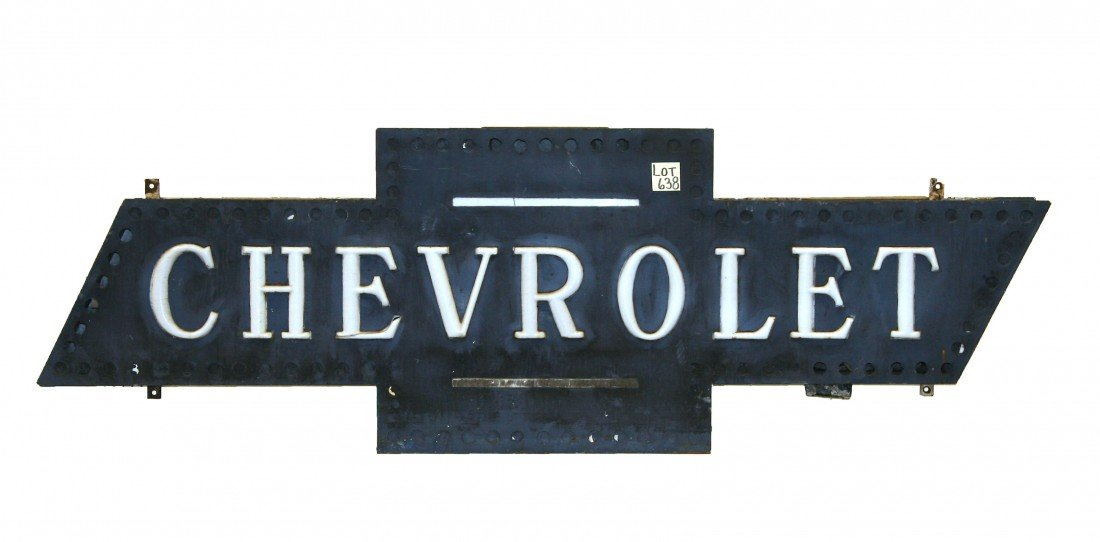 638: Chevrolet Bow Tie Sign
