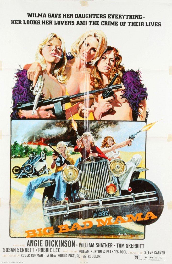 "737: Movie Poster - ""Big Bad Mama"""