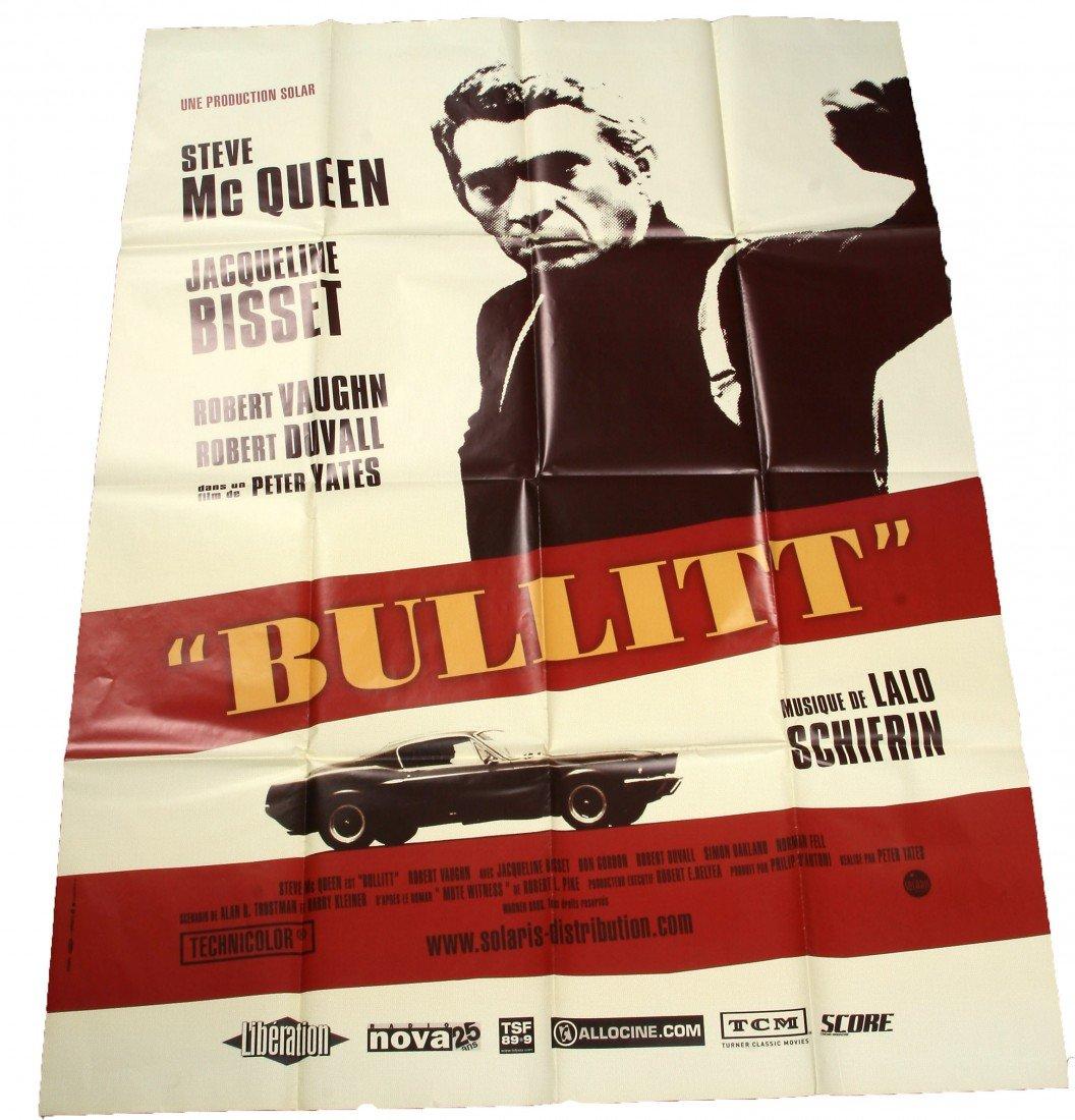 """751: Movie Poster - """"Bullitt"""""""