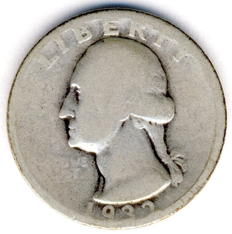 1932-S WASHINGTON 25c