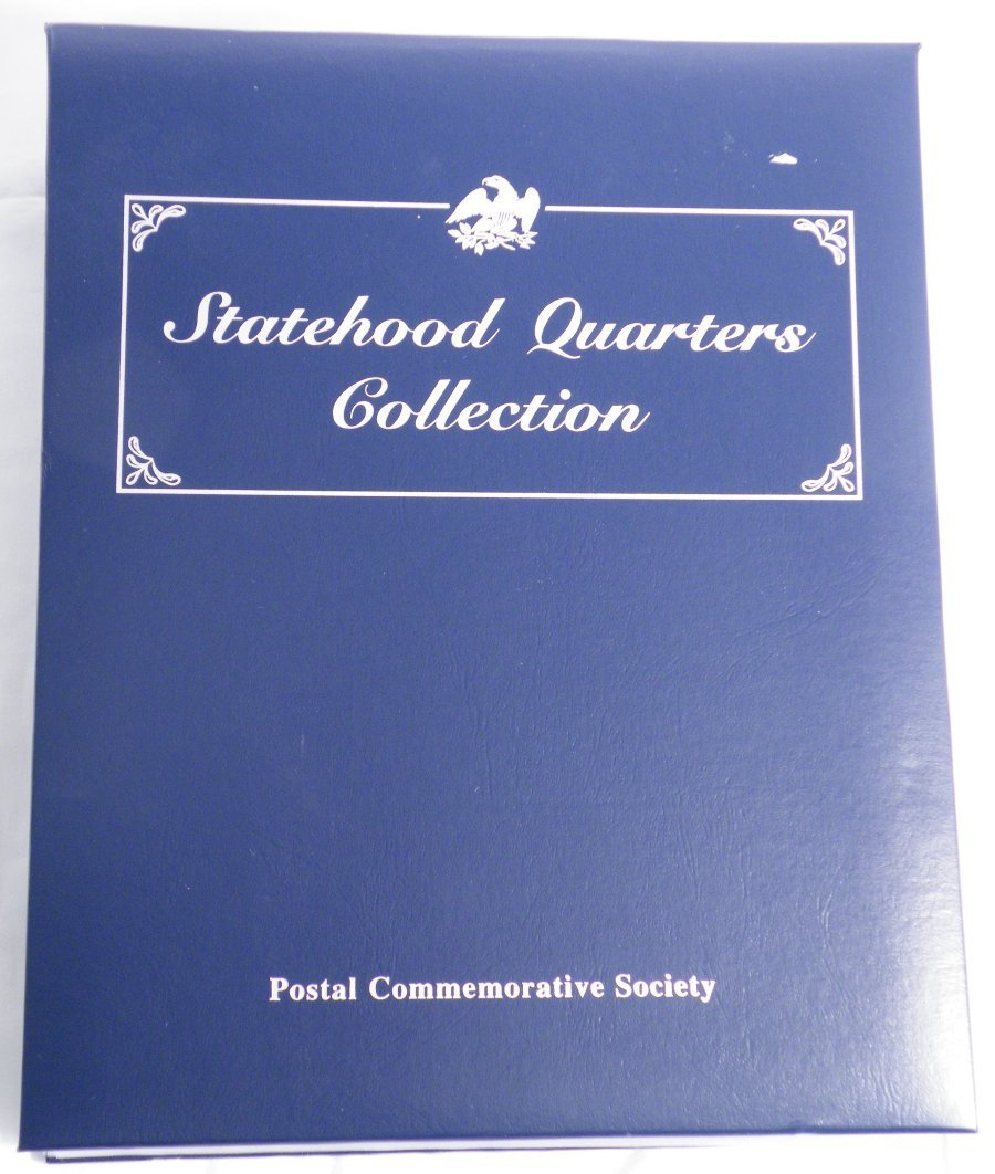 STATEHOOD QUARTERS COLLECTION VOLUME 1 50 COINS