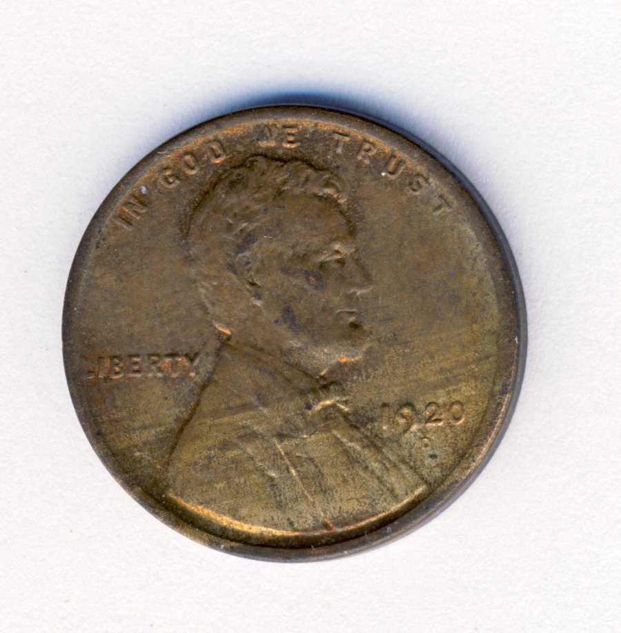 1920-D UNCIRCULATED LINCOLN 1C CENT