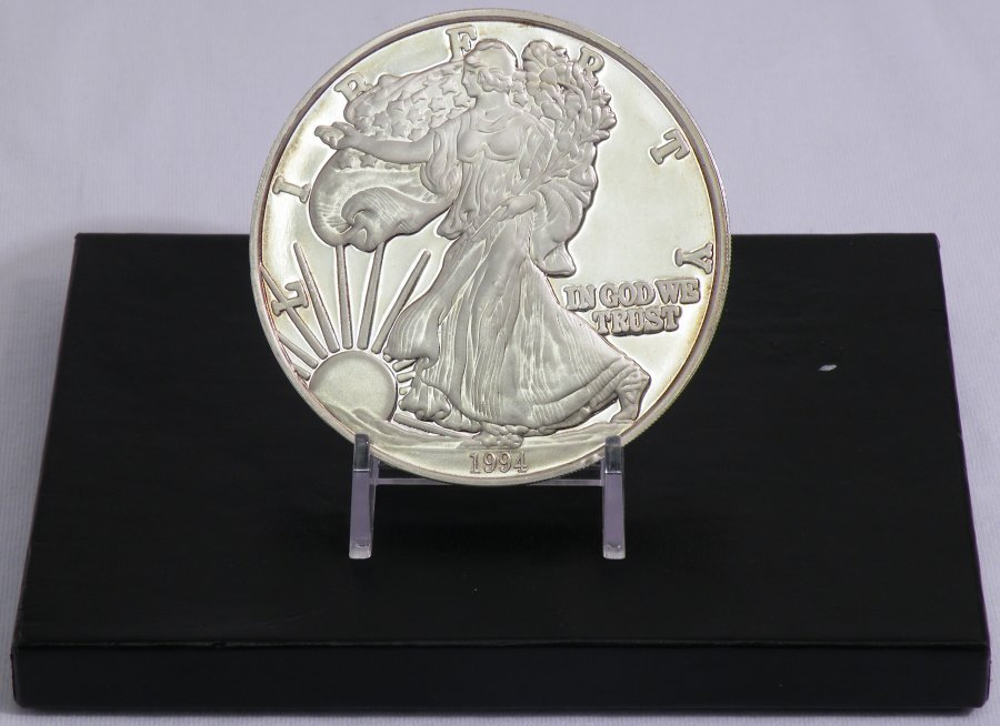 1994 1 POUND PROOF SILVER EAGLE