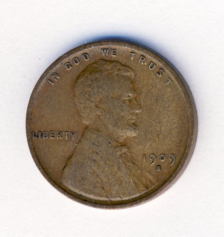 1909-S VDB LINCOLN 1C CENT XF DETAILS