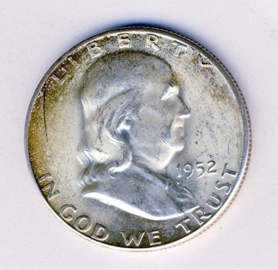 1952 FRANKLIN 50C MS63