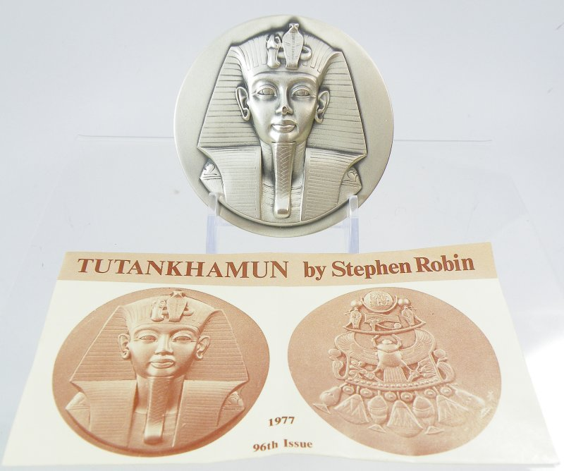 Society of Medalists #96  King Tut,  Only 150 Minted