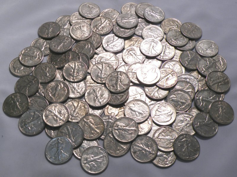 100 MOSTLY CHOICE AU ALMOST UNCIRCULATED WALKING
