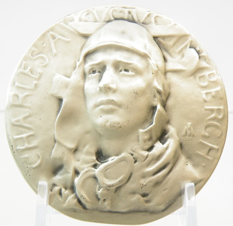 Medals #4 1931 Frederick MacMonnies -- Charles Lindberg