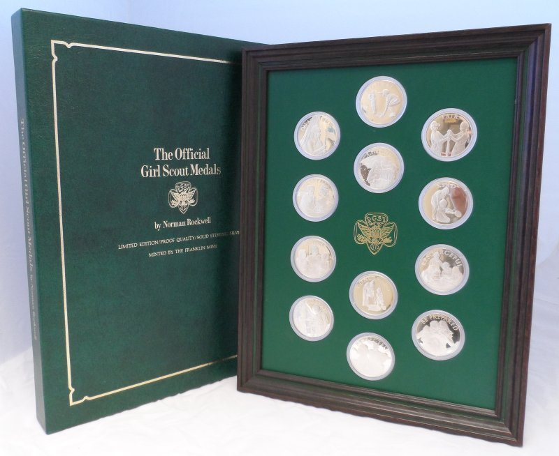 Girl Scout Norman Rockwell Silver Collection