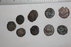 3: DEALER LOT OF BRONZE ROMAN COINS