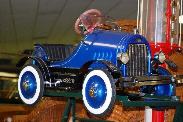 "201: Pedal Car:  Blue ""Classic"""
