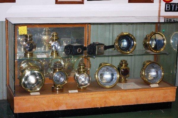 207: Brass Collection:  E&J Brass Tail Light, French Se