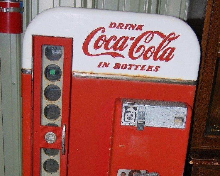 208: Coca-Cola Bottle Machine