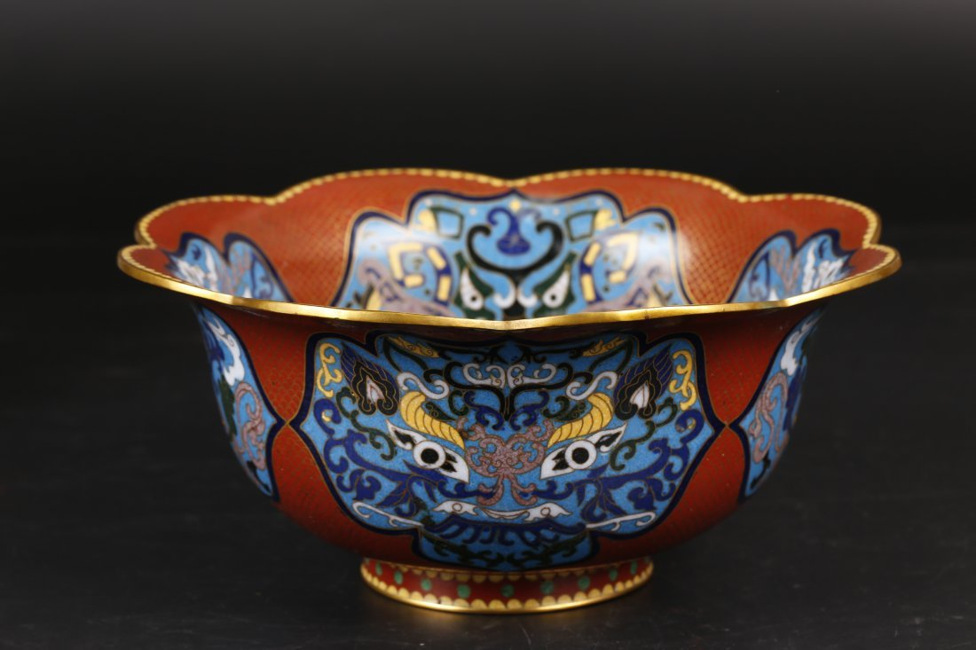 Antique Cloisonne Bowl.