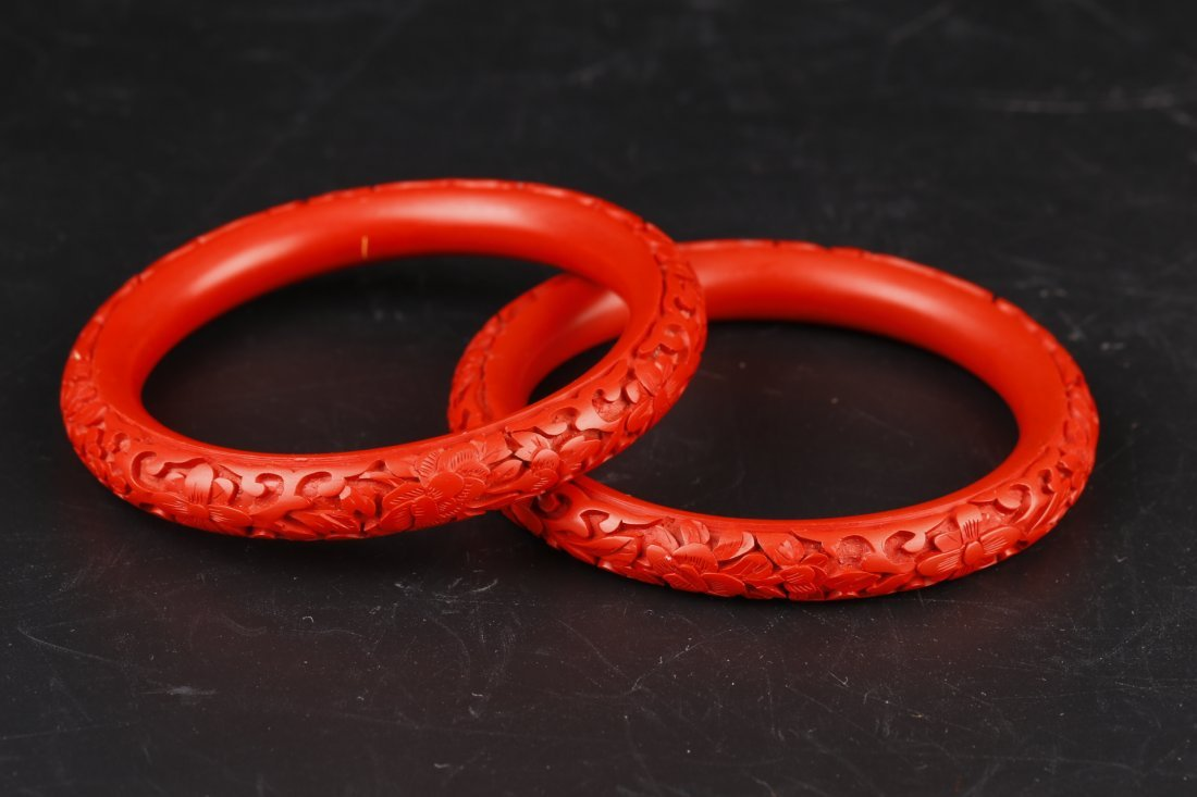 A Natural Red Coral Ring