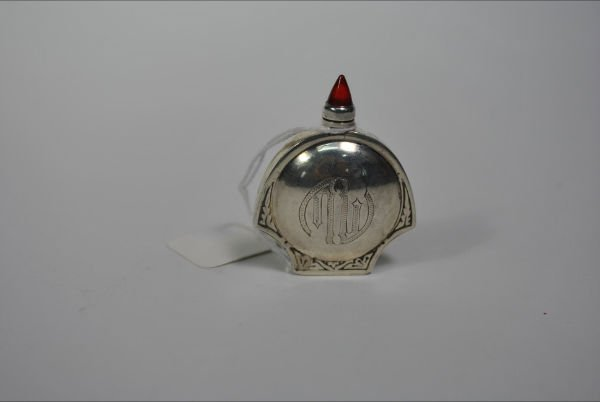 004: ANTIQUE STERLING PERFUME BOTTLE
