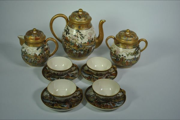 118: SATSUMA TEA SET
