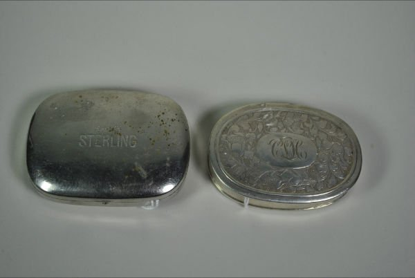 011: STERLING CIGARETTE CASES