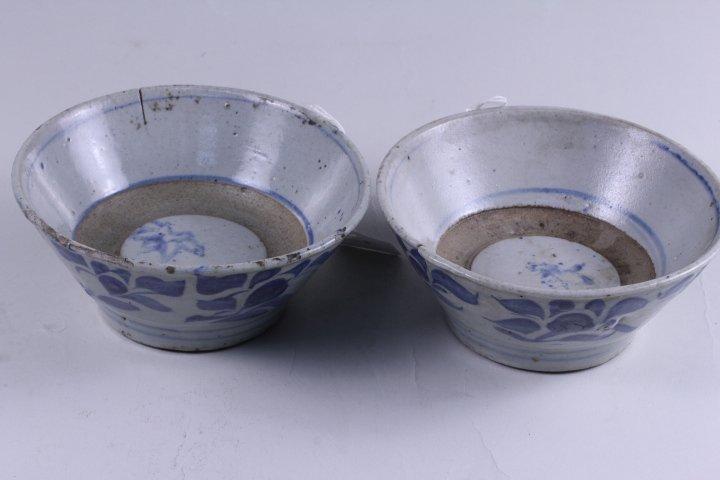 TWO OF KOREA CELADON PORCELAIN BOWLS