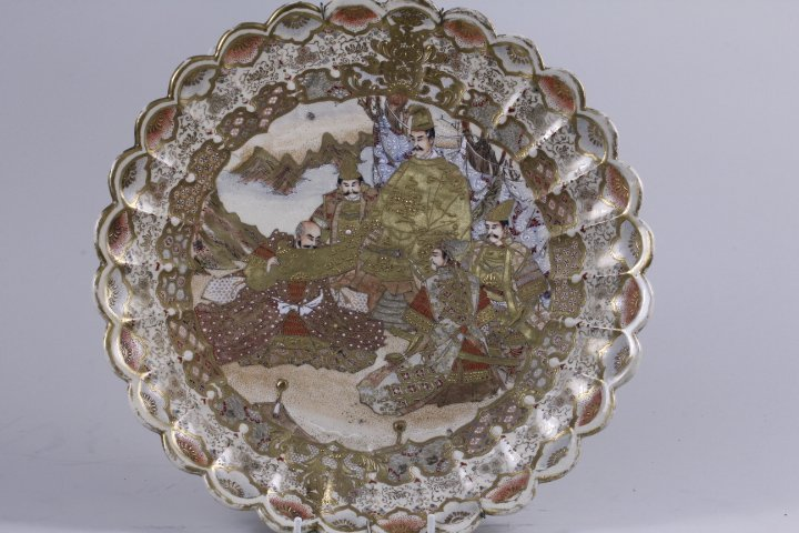 VERY FINE LARGE JAPANESE PLATE