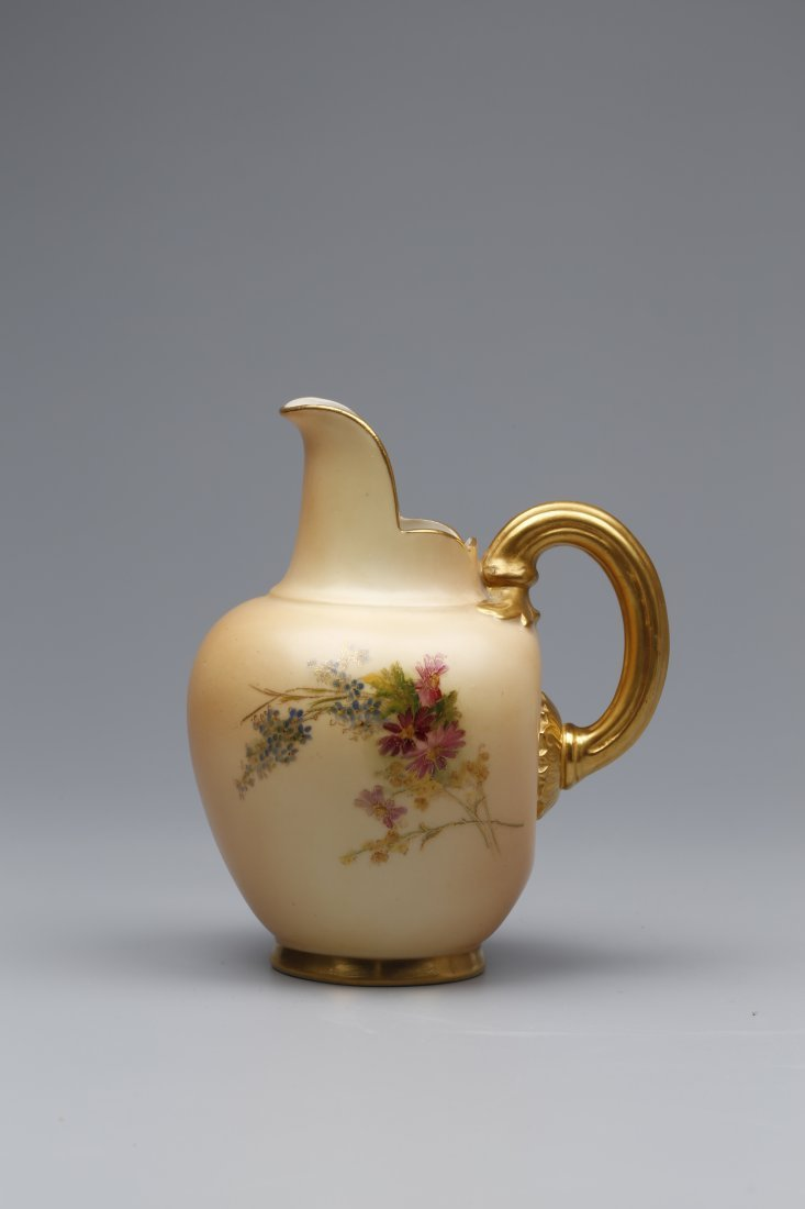 Royal Worcester Small Jug Dated 1908.