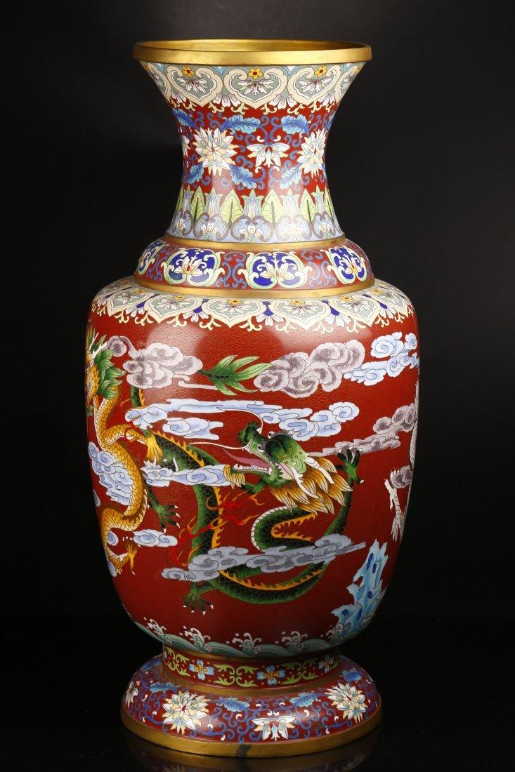 Antique Cloisonne Vase.