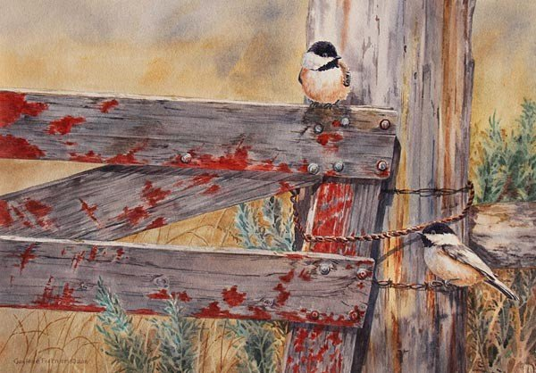 13: Chickadees at the Gate