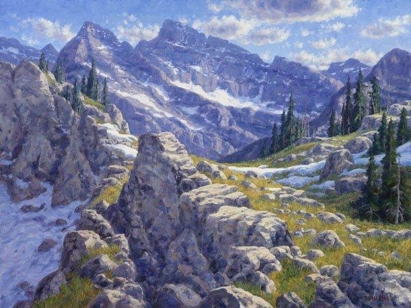 Precipices and Peaks of Glacier Park