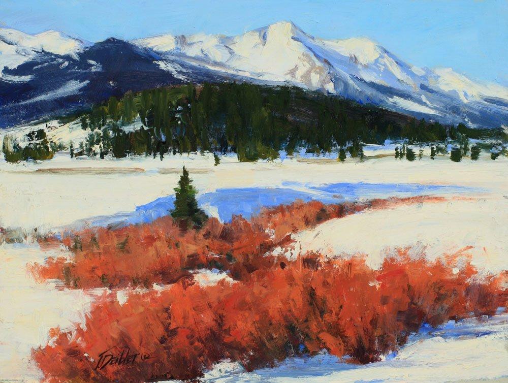 Winter Reds, by Tim Deibler