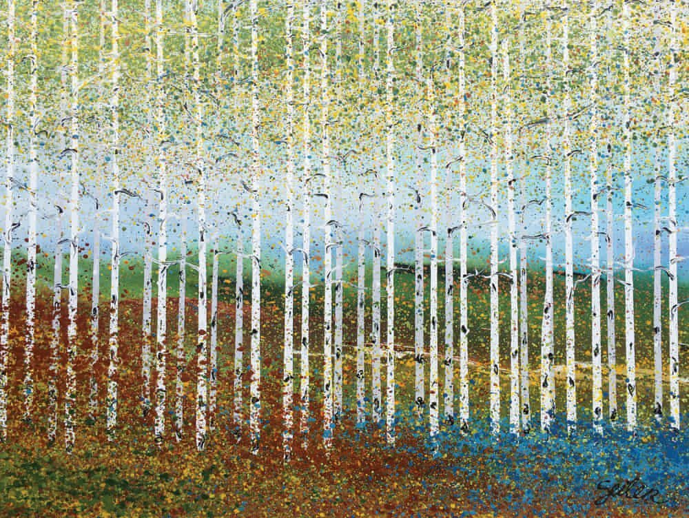 Aspen Grove Two, by Nancy Seiler
