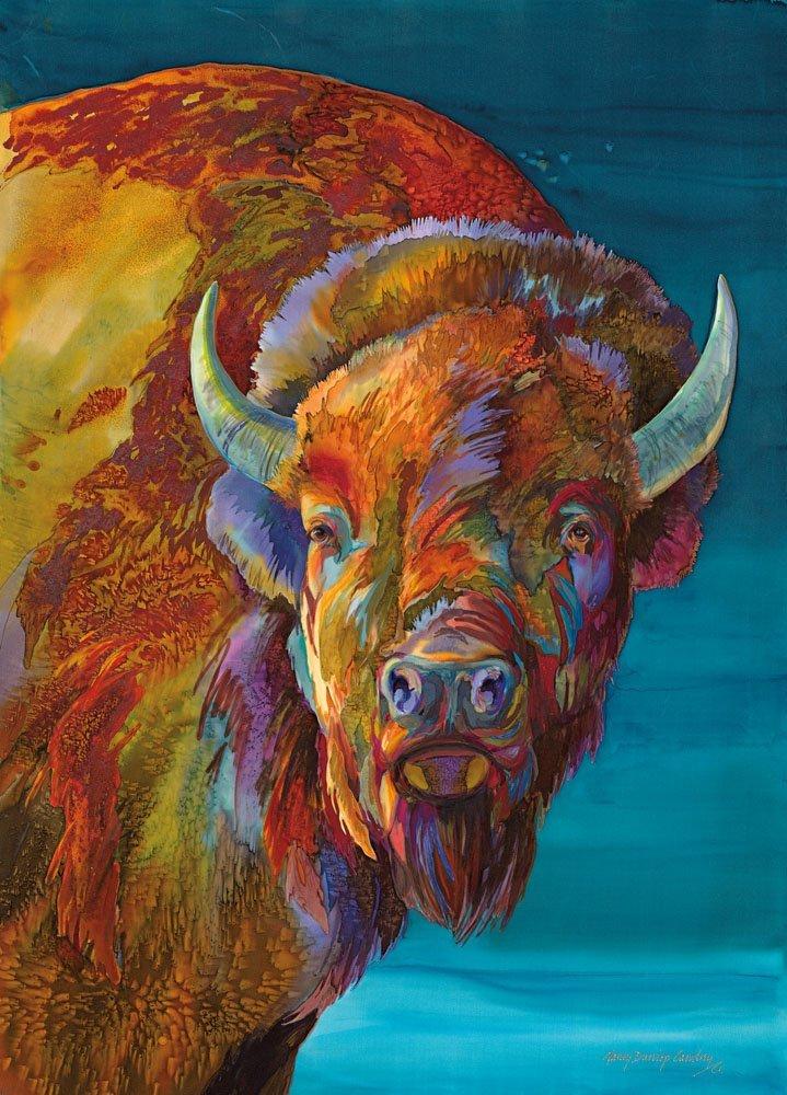 Big Sky Bison, by Nancy Dunlop Cawdrey