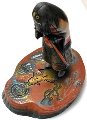 7: Hopi So'yok Wuuti Enforcer Cottonwood Kachina - St - 2
