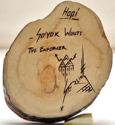 7: Hopi So'yok Wuuti Enforcer Cottonwood Kachina - St - 5
