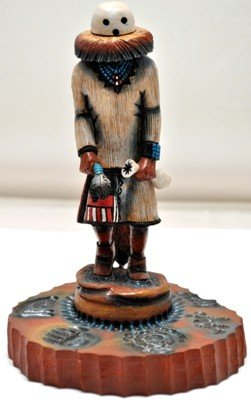 Hopi Eototo Kachina Chief Cottonwood Kachina - Ste
